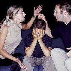 Los hijos y la violencia de pareja