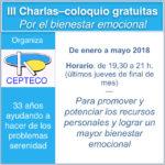 """III Charlas-coloquio """"Por el bienestar emocional"""""""
