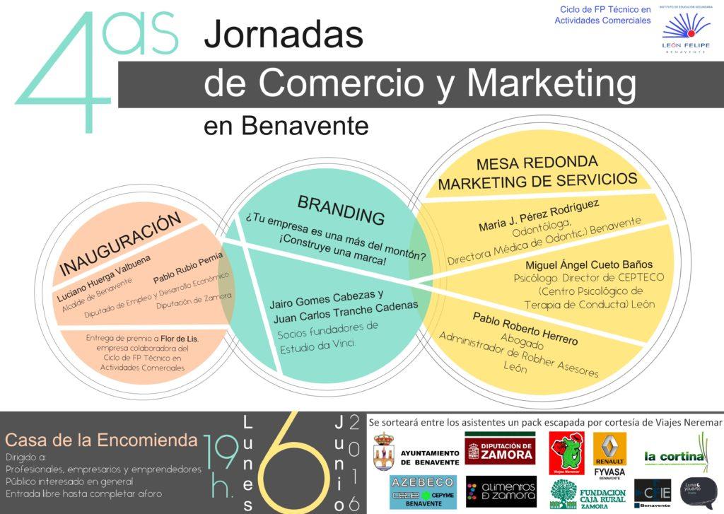 Cartel4asJornadasComercioMarketing-Benavente