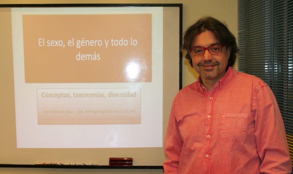 José Manuel Diez. Antropólogo Social y Cultural
