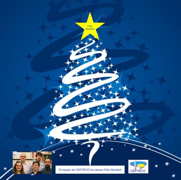 El equipo de CEPTECO les desea Felices Fiestas y Feliz 2015
