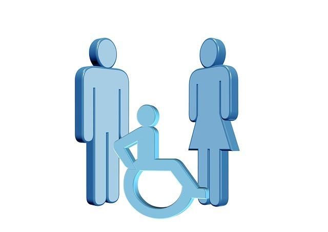 La familia con un hijo con discapacidad