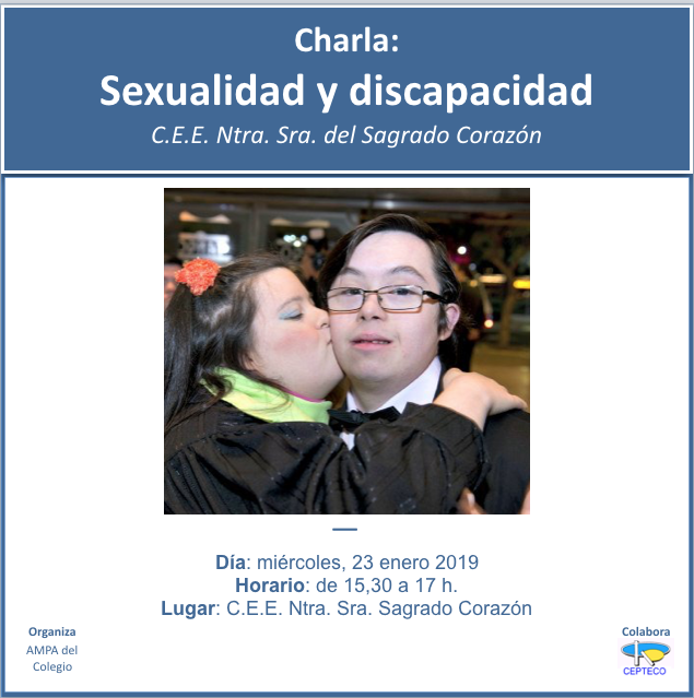 Charla Sexualidad y discapacidad