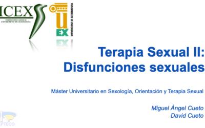 Máster Universitario en Sexología