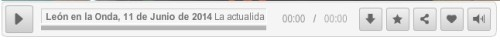 Audio: Onda Cero, 11 junio 2014.