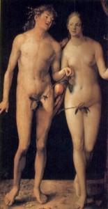 Alberto Durero. Adán y Eva (1507)