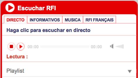 Entrevista RFI a Miguel Ángel Cueto. 21 enero 2015.